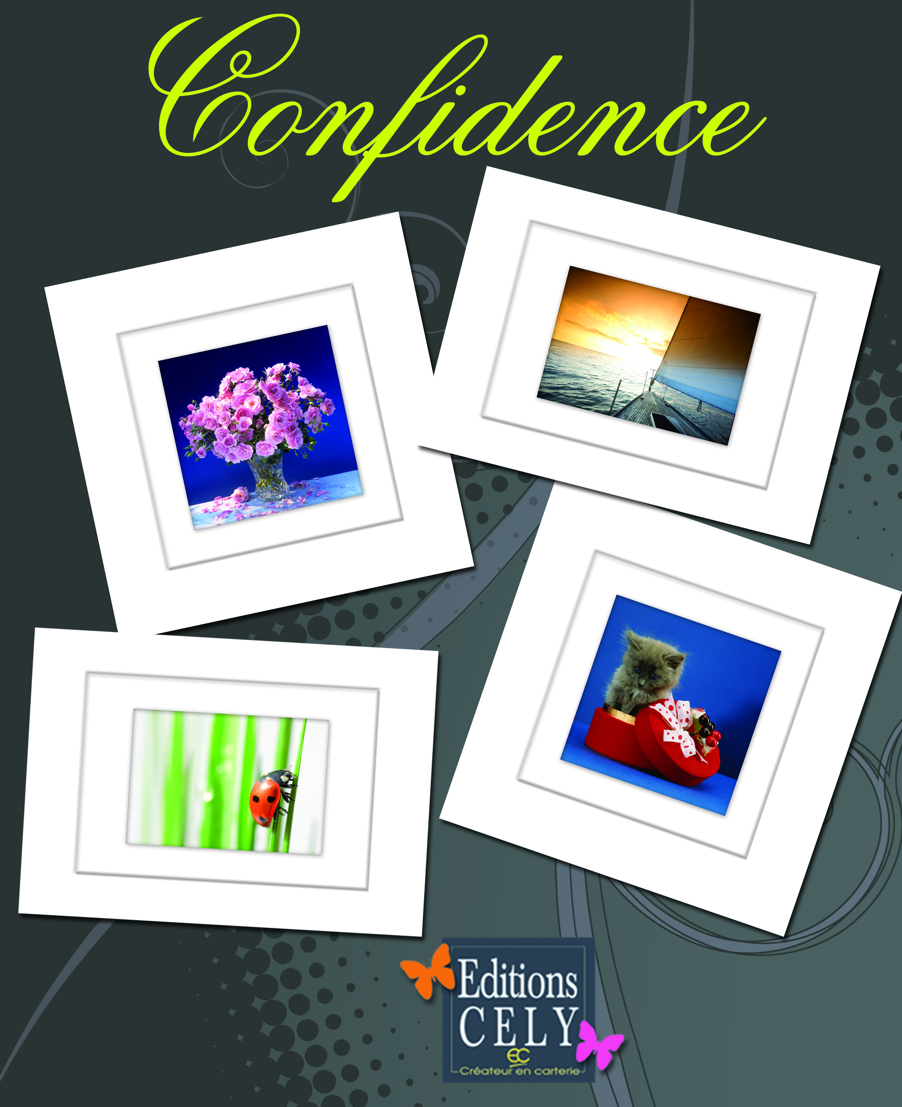 cartes postales Cely CONFIDENCE