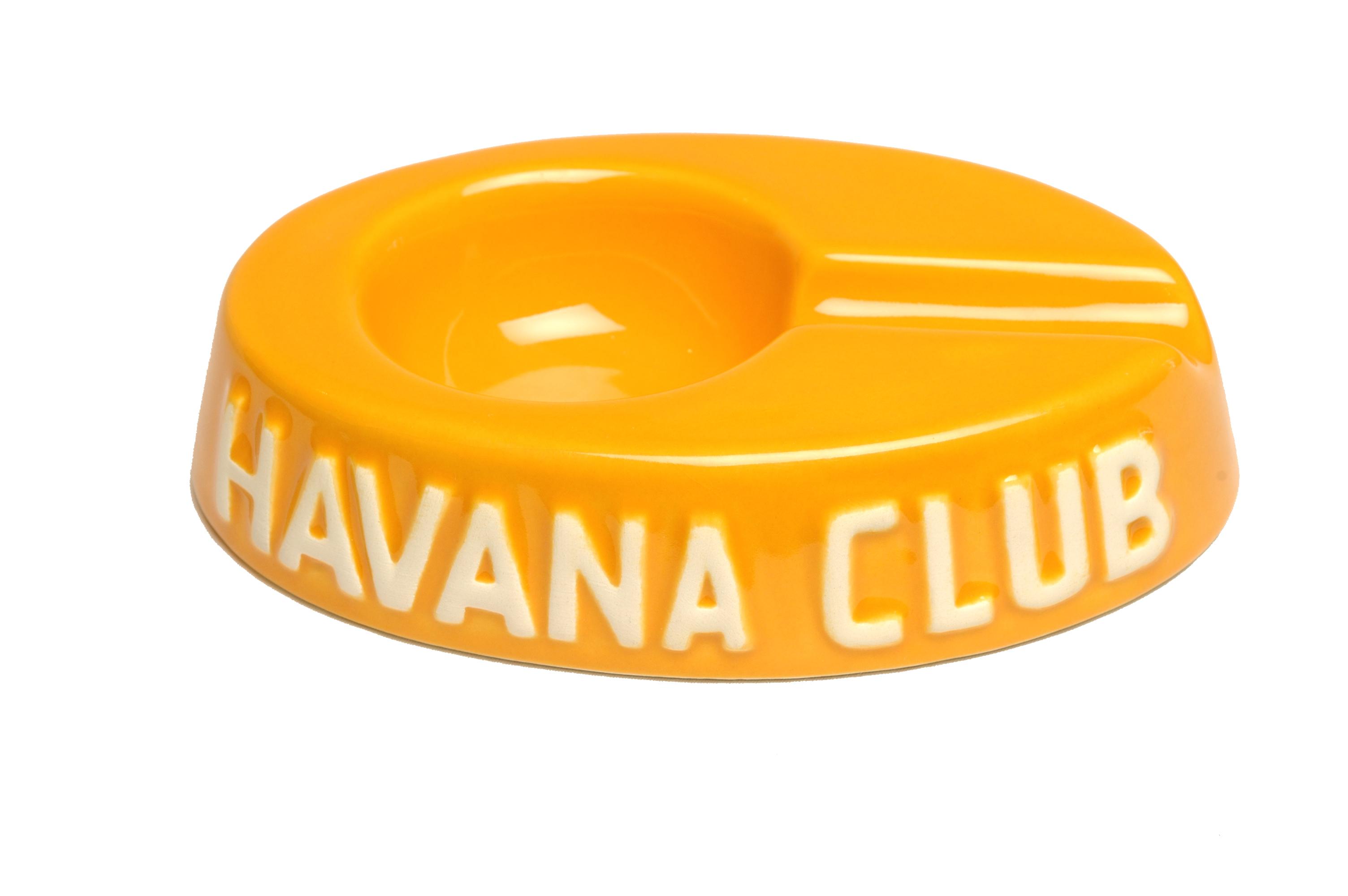 cendrier jaune havana club