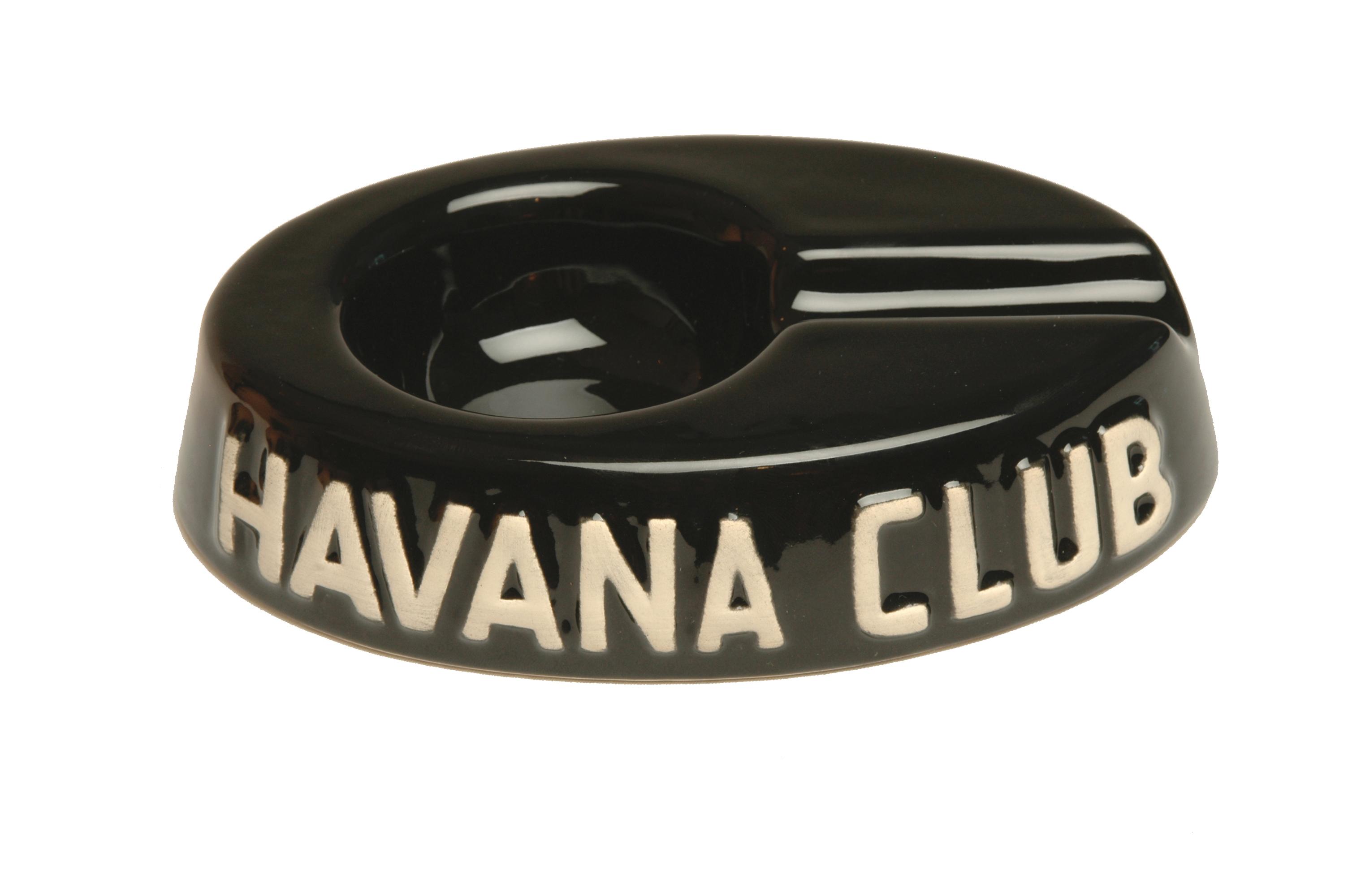 cendrier noir Havana Club