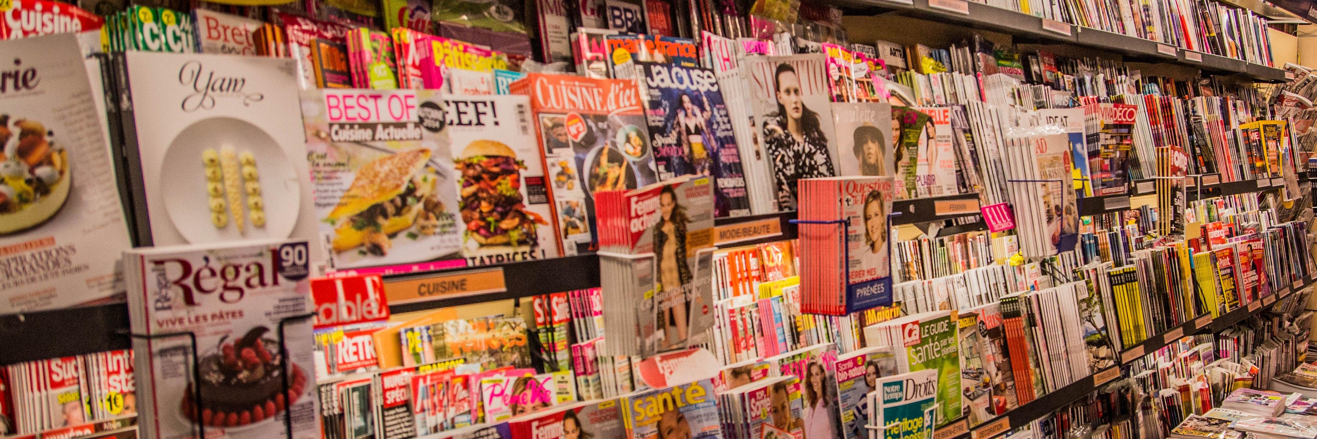 Rayon presse Maison de la Presse le Temps de Vivre Toulouse